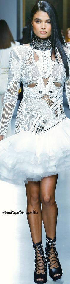 Balmain Spring Menswear 2018 ♕♚εїз   BLAIR SPARKLES  