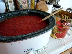 red sauce for freezer