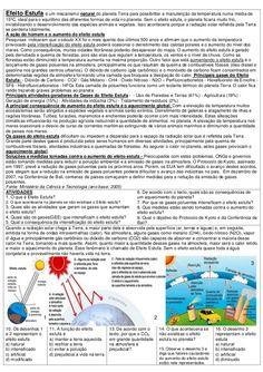 ATIVIDADES DIVERSAS CLÁUDIA: Atividades de interpretação de texto e imagens sobre aquecimento global e efeito estufa