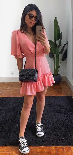 Boho Fashion, Girl Fashion, Fashion Looks, Fashion Outfits, Womens Fashion, Looks Style, Casual Looks, All Star Outfit, Différents Styles