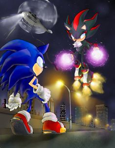 Sonic And Shadow Adventure Wallpaper