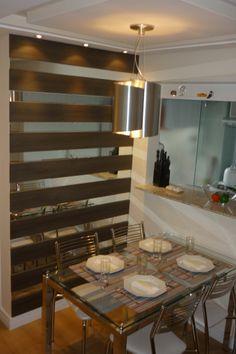 Sala de Jantar - ref. Mesa com cadeiras pretas