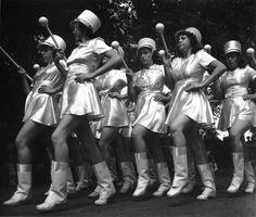 John Gutmann: Majorettes in Parade, California, 1939