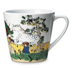 Pippi. I think that with my morning coffee in this cup I could take on the world (and carry horses) :))