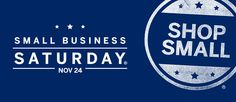 Between Black Friday and Cyber Monday sits Small Business Saturday®, a day dedicated to helping small businesses and their communities.  We at VMCskin.com are proud to take part in Small Business Saturday this year and we want to encourage you to Shop Small® with us on November 24th.