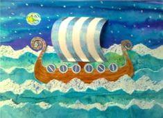 Vikinská loď