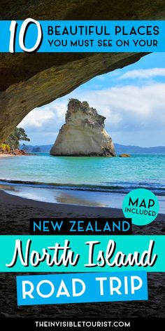 Beautiful places you must see on your North Island Road Trip | The Invisible Tourist #beautifulplaces #newzealand #northisland #northislandroadtrip #newzealandbeauty #newzealandfinds #newzealandguide