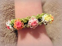 Spring Sale  Mini Chrysanthemum Bracelet  FREE by FuzzlesBandStand