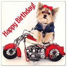 Image result for biker birthday images