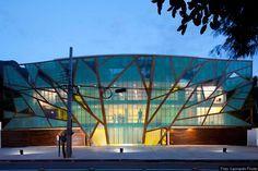 Brazilian Mopi School Has a Beautiful Branch Pattern Facade | Inhabitat - Sustainable Design Innovation, Eco Architecture, Green Building