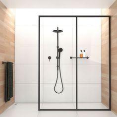"「Bathroom ""Onix"" by Phoenix tapware #matteblack #bathroom #tapware #black #bathroomdesign #shower #interior #interiors #instadecor #instainteriors…」"