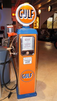 old gas pumps and signs - Google Search