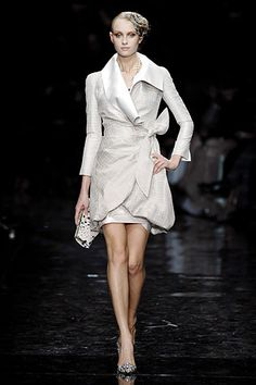 Armani Privé Spring 2007 Couture - Collection - Gallery - Look 1 - Style.com