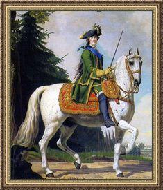 Katharina II., genannt Katharina die Große , * 2. Mai 1729 in Stettin;   † November 1796 in Sankt Petersburg