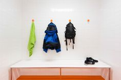 Dial Hangers for Ian Moore Architects, In2ski | DesignByThem (photography by Daniel Mayne)