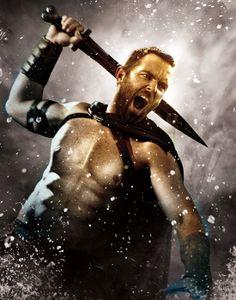 """Australian Actor Sullivan Stapleton in """"300: Rise of an Empire"""""""