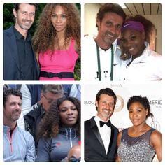 chocolategirlandvanillaguy:  Serena Williams and Patrick Mouratoglou  ❤️