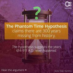 The Phantom Time Hypothesis