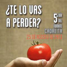"La Lata de Navarra #Camapaña ""5º Día del Tomate Cadreita"" Vegetables, Food, August 25, Tin Cans, Creativity, Essen, Vegetable Recipes, Meals, Yemek"