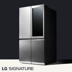 Cool Kitchen Gadgets, Kitchen Items, Cool Kitchens, Condo Design, E Design, Modern Design, Tall Cabinet Storage, Locker Storage, Double Door Refrigerator