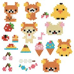 Amazon.co.jp | parlor beads San-X Rilakkuma plenty set 80-54167 | Toys mail order