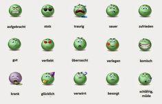 emociones en aleman