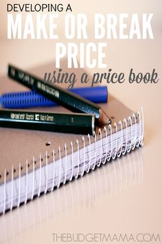 The key to a grocery budget, is knowing whether or not you are getting a great deal on the items you purchase. Developing a Make or Break Price, can do just that. P.S. There's a free printable! :)