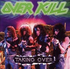 Overkill is a group of Heavy Metal, Speed Metal and Thrash Metal formed in New Jersey In Ove Thrash Metal, Heavy Metal Bands, Twisted Metal, Vinyl Music, Lp Vinyl, Lps, Overkill Band, Techno, Classic Video
