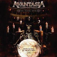 """L'album degli #Avantasia intitolato """"The flying opera"""" su vinile."""