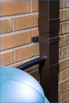 Dales Aluminium Rainwater Diverter