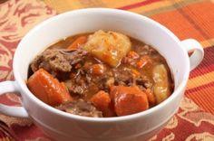 Ragoût de bœuf aux légumes, cuit au four