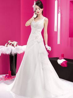 Brautkleider im unteren Preissegment   miss solution Bildergalerie - Modell: JFY 145-19 by JUST FOR YOU