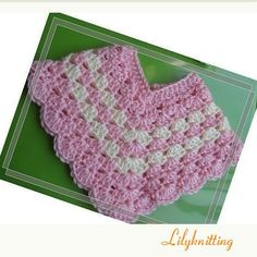 PATTERN Crocheted baby toddler Poncho Poncho 1 6 by LilyKnitting