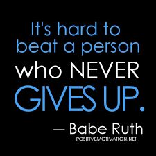 NEVER give up on your dreams. amyhamiltonfitness.com