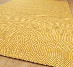 sloan mustard rugs | modern rugs | home sweet home | pinterest