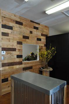 Cedar Plank wall