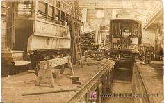 Fotografía antigua: HATUEY- PUBLICIDAD DE LA CERVEZA DE CUBA - Taller del Ferrocarril de Cuba, y el Vagon con l - Foto 1 - 19923408