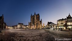 Korenmarkt, and Sint-Niklaaskerk, Gent Belgium Ghent Belgium, Gaston, Throughout The World, Place Of Worship, Explore, Mansions, House Styles, Building, Places