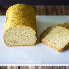 Coconut Flour Psyllium Husk Bread – Paleo via @lowcarbyum
