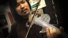 It was few years ago was playing with us at the Namm Show, Electric Violin, Play, Instagram