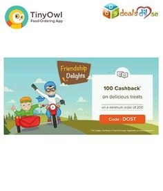 Get 100 Off on Food Order Of Rs.200 on App