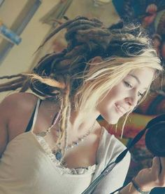 Hopefully mine will look as beautiful as these dreads
