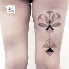 Axel Ejsmont Tattoo — #axelejsmont #tattoo #geometry #dotwork #berlin