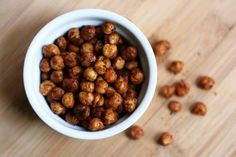 Roasted Garbanzo Beans.  Use allowed seasonings.
