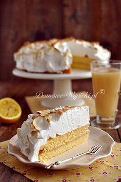 Cytrynowe ciasto z bezą