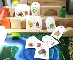 A visual scavenger hunt. Helps children make the link between objects and words for literacy, uses visual memory recall to remember where they have seen the objects before, and develops problem sdolving skills.
