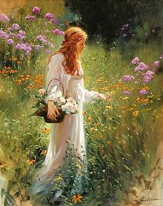 I go to the garden alone while the dew is still on the roses ~Richard S. Johnson
