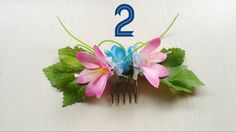 Handmade Party & Wedding Flower Combs by TrendOTD on Etsy