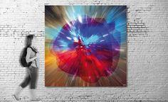 Exposición virtual / Título: Extraterrestial Intelligence I (serie Universe) / Medida original: 210 x 151 cm / Resolución: 120 p.p. / Formato de imagen: JPEG / Color estándar: CMYK / Peso digital: 237 Mb