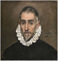 El Greco, An Elderly Gentleman, 1587-1600 | Prado